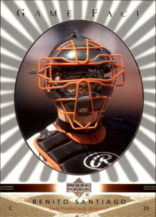 2003 Upper Deck Game Face #96 Benito Santiago