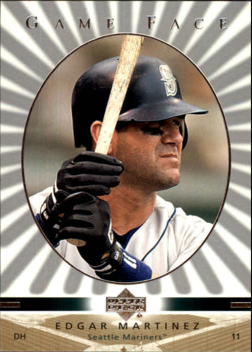 2003 Upper Deck Game Face #98 Edgar Martinez