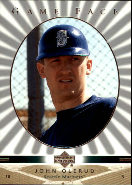 2003 Upper Deck Game Face #99 John Olerud