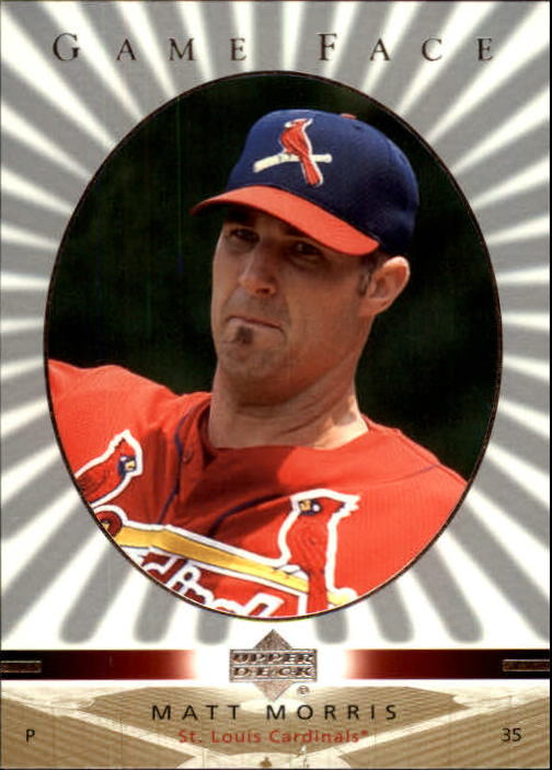 2003 Upper Deck Game Face #105 Matt Morris