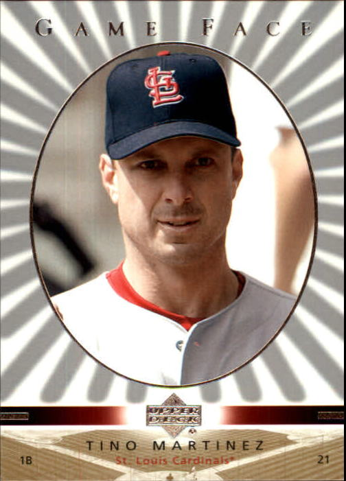 2003 Upper Deck Game Face #106 Tino Martinez