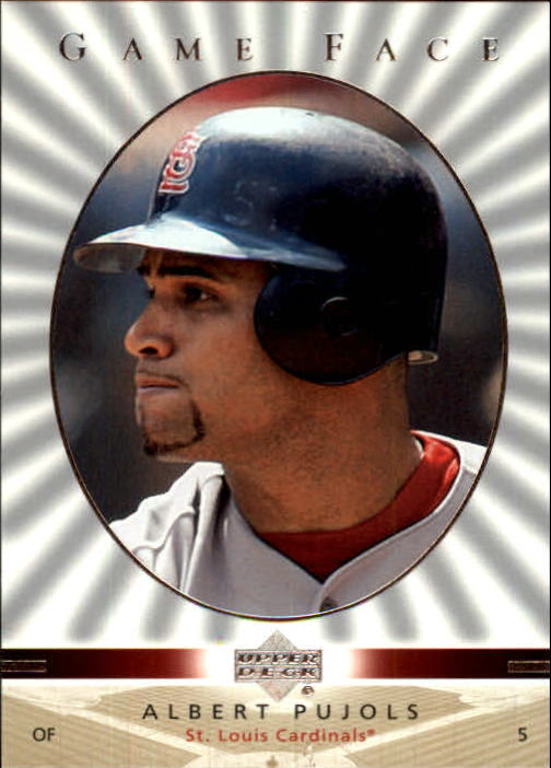 2003 Upper Deck Game Face #107 Albert Pujols SP