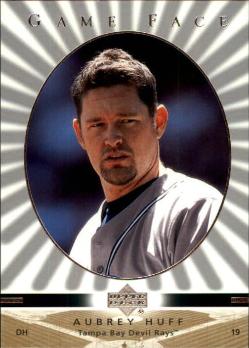 2003 Upper Deck Game Face #108 Aubrey Huff