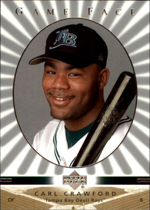 2003 Upper Deck Game Face #109 Carl Crawford