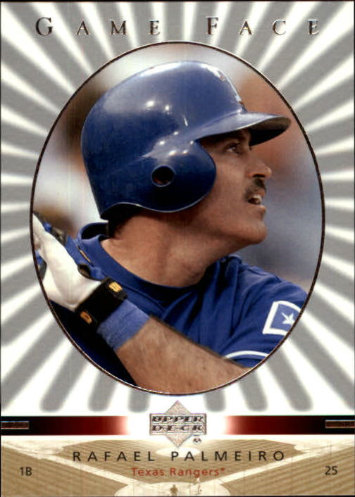 2003 Upper Deck Game Face #110 Rafael Palmeiro