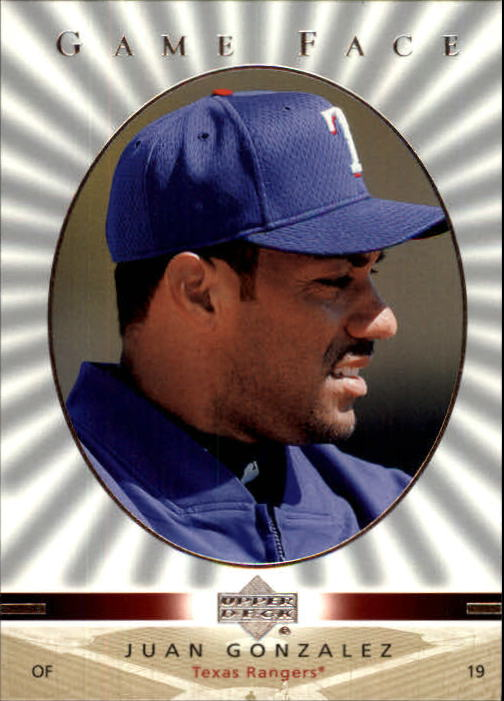 2003 Upper Deck Game Face #114 Juan Gonzalez SP