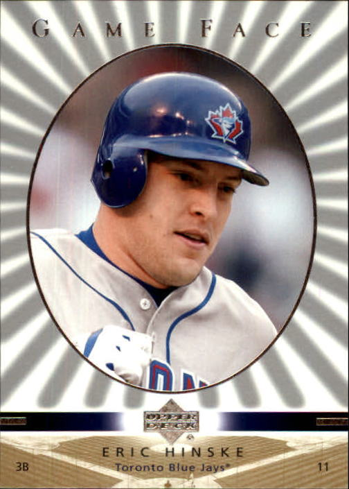 2003 Upper Deck Game Face #118 Eric Hinske