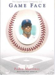 2003 Upper Deck Game Face #156 Pedro Martinez GF