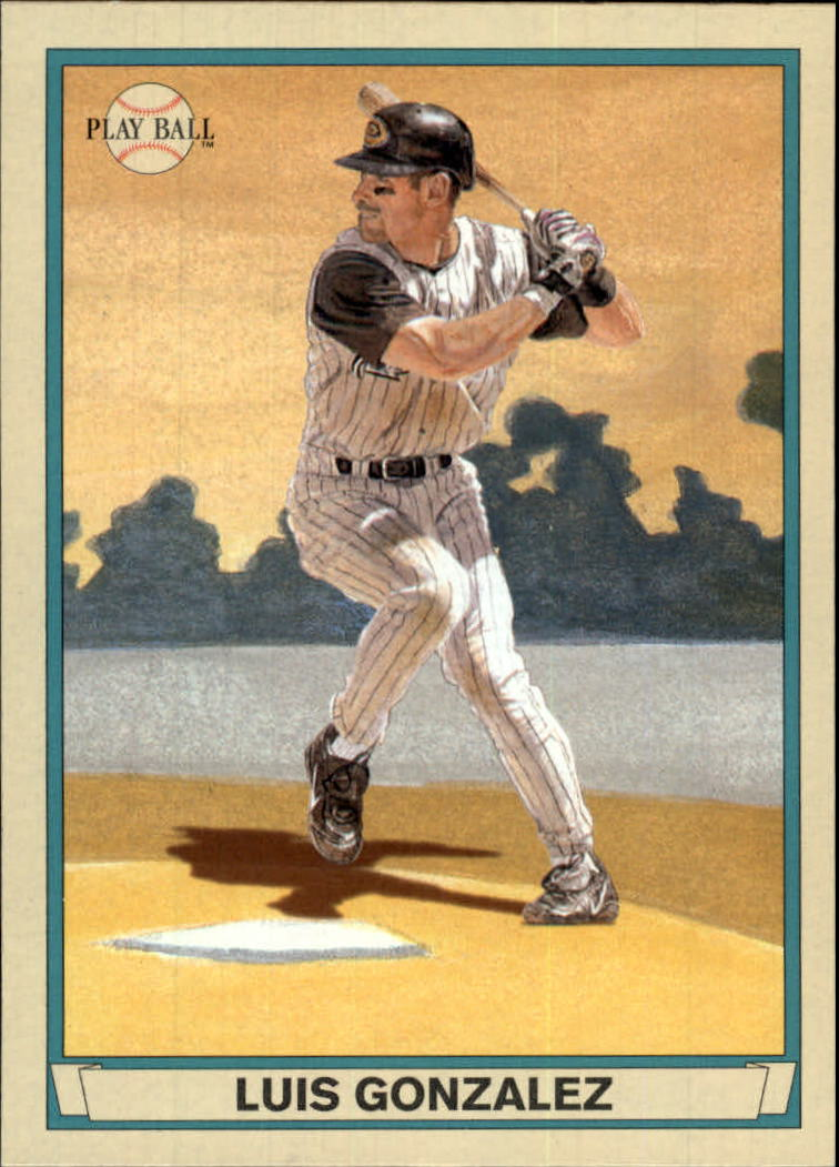 2003 Upper Deck Play Ball #4 Luis Gonzalez