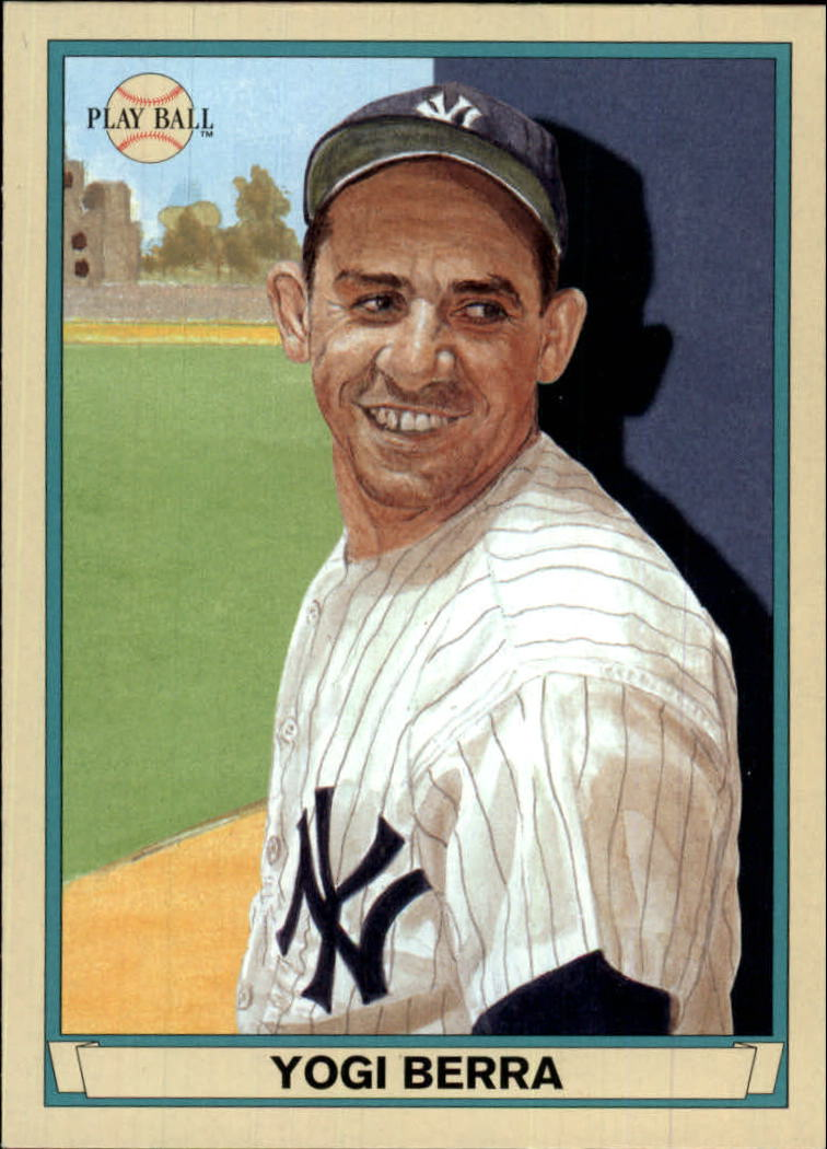 2003 Upper Deck Play Ball #42 Yogi Berra front image