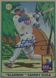 2003 Upper Deck Play Ball Hawaii Autographs #SS Sammy Sosa