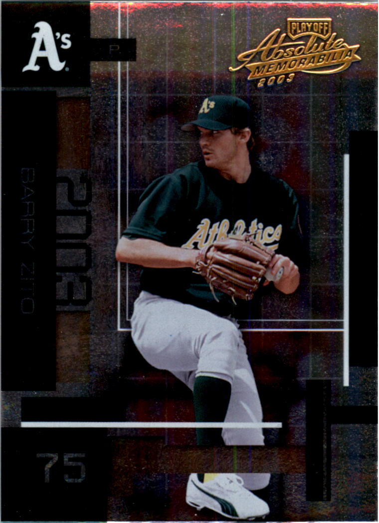 2003 Absolute Memorabilia #17 Barry Zito