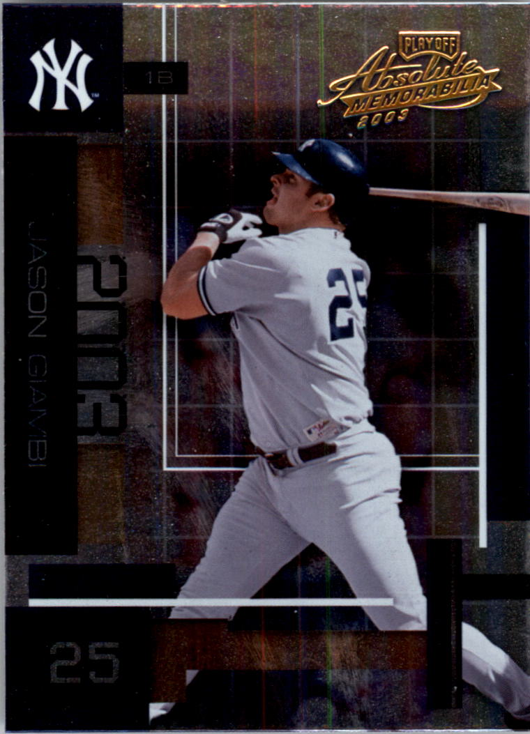 2003 Absolute Memorabilia #83 Jason Giambi