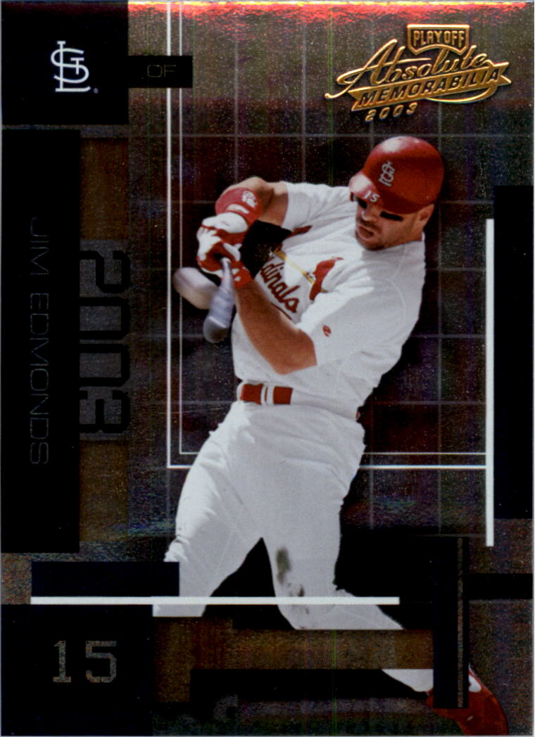 2003 Absolute Memorabilia #137 Jim Edmonds