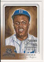 2003 Diamond Kings Chicago Collection #160 Jackie Robinson RET