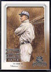 2003 Diamond Kings Chicago Collection #172 Ty Cobb RET