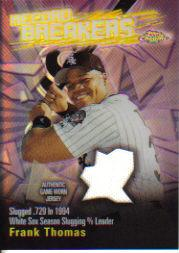 2003 Topps Chrome Record Breakers Relics #FT Frank Thomas Uni B1