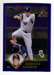 2003 Topps Chrome Traded #T59 Roberto Alomar
