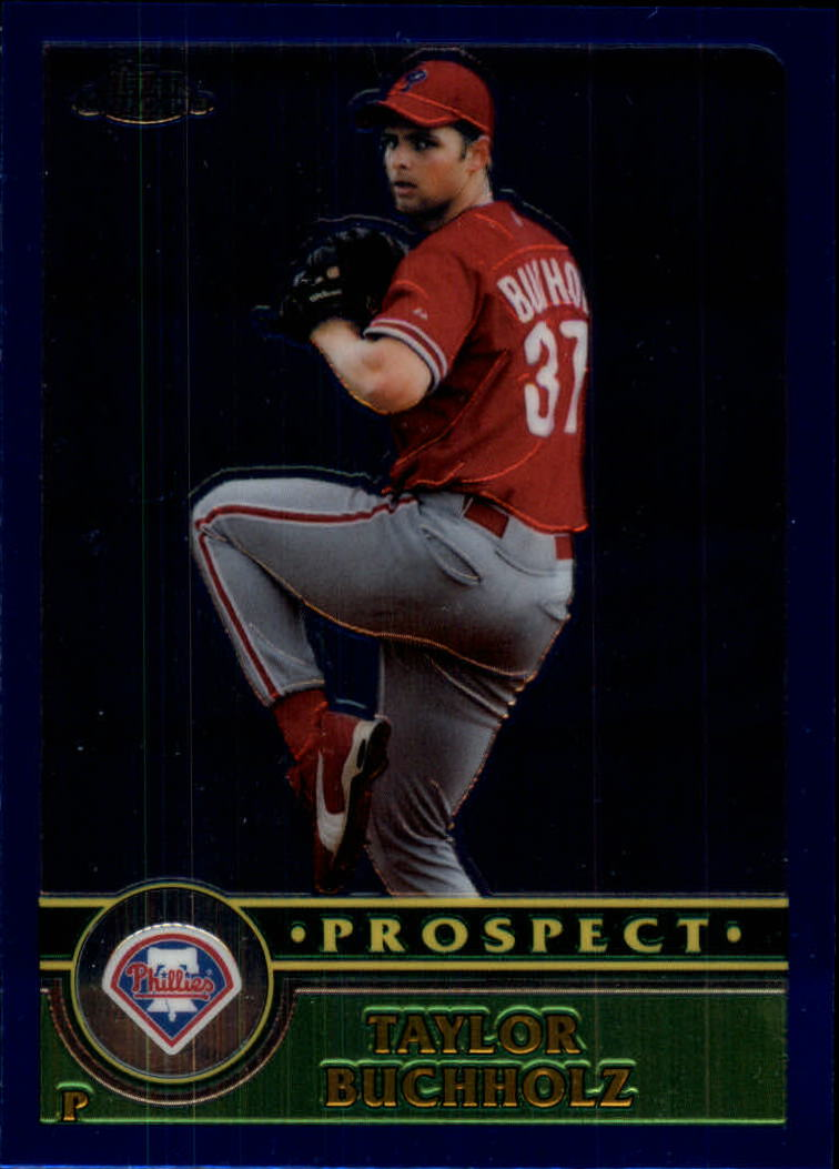 2003 Topps Chrome Traded #T135 Taylor Buchholz PROS