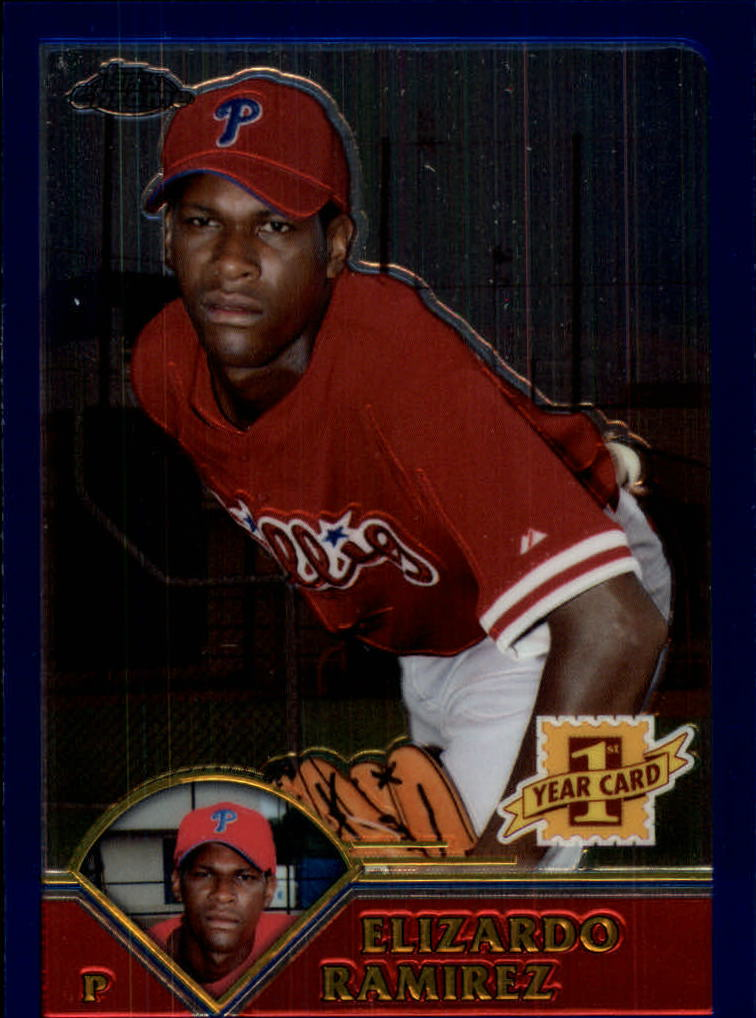 2003 Topps Chrome Traded #T175 Elizardo Ramirez FY RC