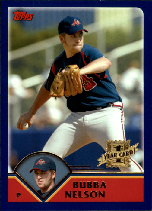 2003 Topps Chrome Traded #T179 Bubba Nelson FY RC