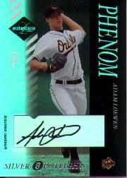 2003 Leaf Limited Silver Spotlight #192 Adam Loewen PH AU