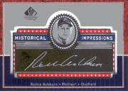 2003 SP Legendary Cuts Historical Impressions Silver #RA Richie Ashburn