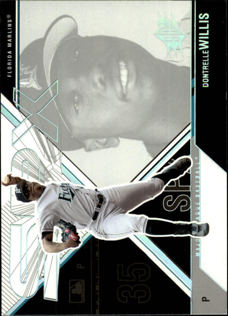 2003 SPx #53 Dontrelle Willis SP
