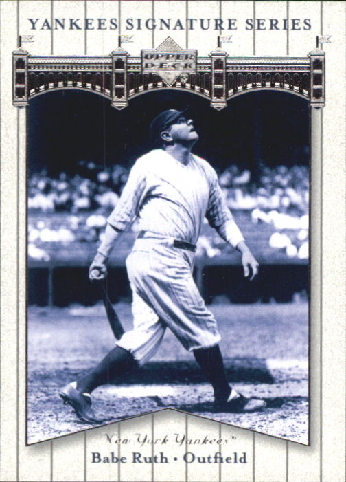 2003 Upper Deck Yankees Signature #4 Babe Ruth