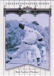 2003 Upper Deck Yankees Signature #8 Bob Turley