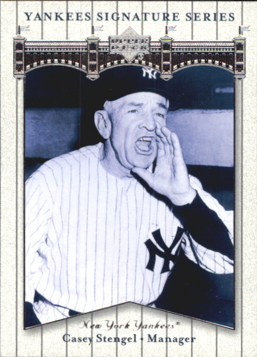 2003 Upper Deck Yankees Signature #14 Casey Stengel