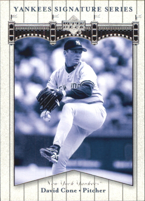 2003 Upper Deck Yankees Signature #22 David Cone