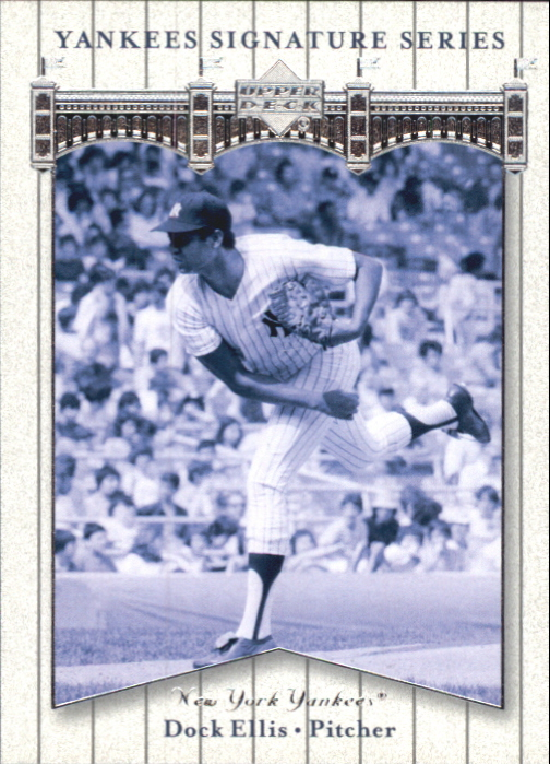 2003 Upper Deck Yankees Signature #25 Dock Ellis