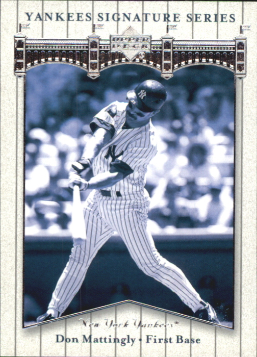 2003 Upper Deck Yankees Signature #27 Don Mattingly