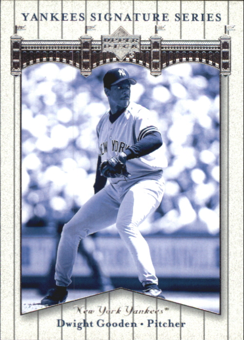 2003 Upper Deck Yankees Signature #28 Dwight Gooden