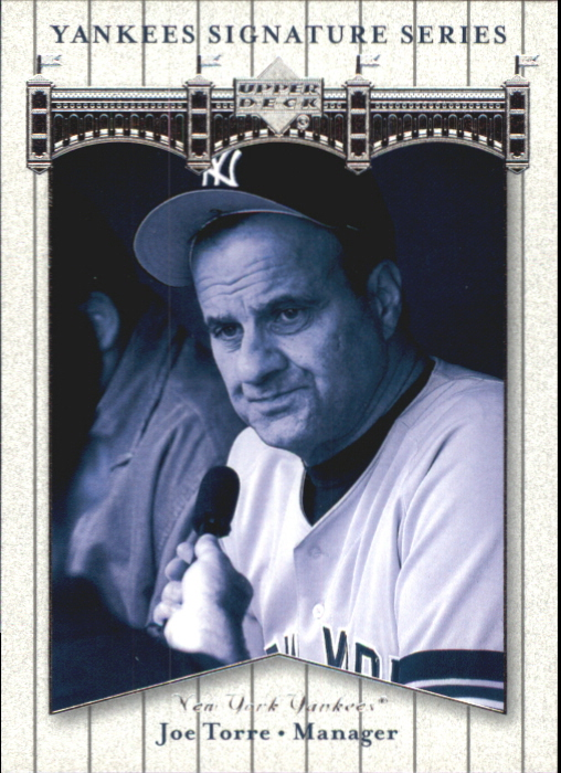 2003 Upper Deck Yankees Signature #45 Joe Torre