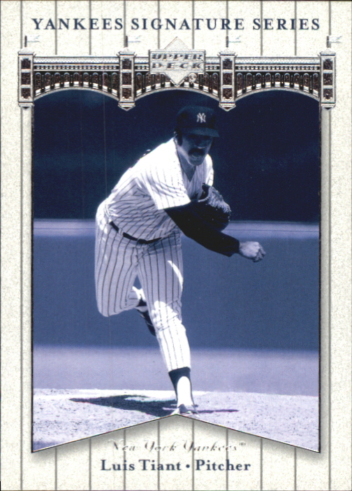 2003 Upper Deck Yankees Signature #56 Luis Tiant
