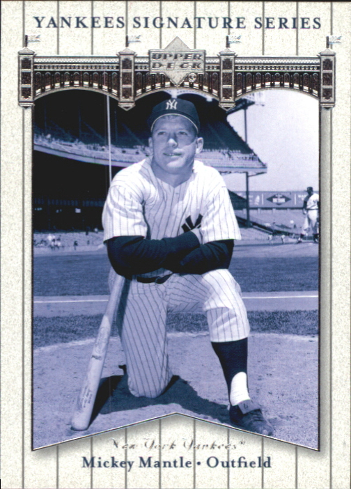 2003 Upper Deck Yankees Signature #59 Mickey Mantle