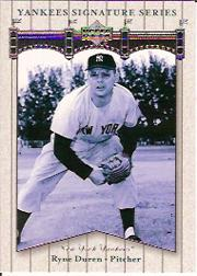 2003 Upper Deck Yankees Signature #75 Ryne Duren