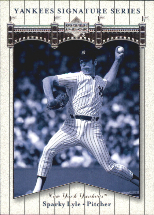 2003 Upper Deck Yankees Signature #77 Sparky Lyle