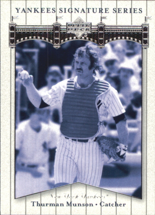 2003 Upper Deck Yankees Signature #78 Thurman Munson