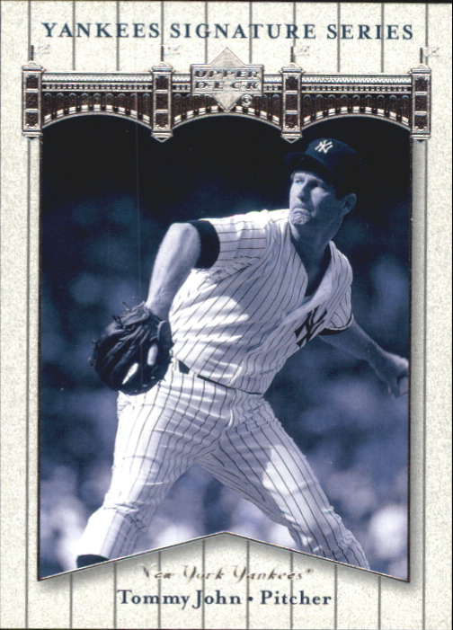 2003 Upper Deck Yankees Signature #83 Tommy John