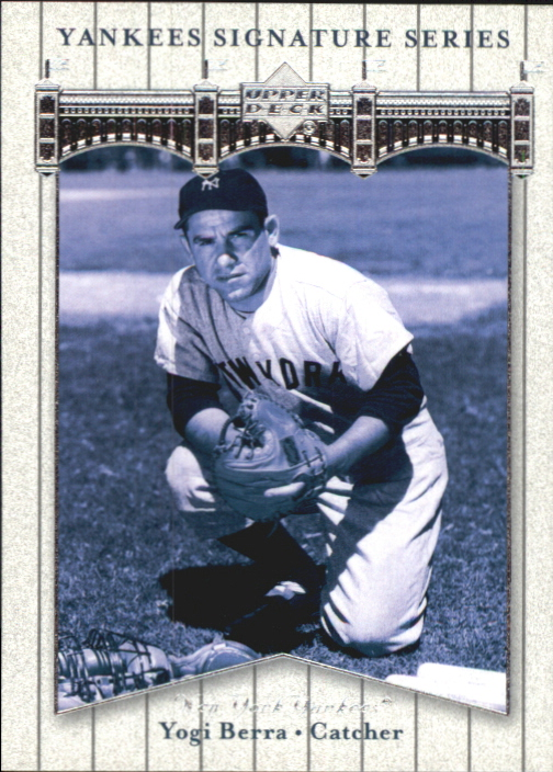 2003 Upper Deck Yankees Signature #90 Yogi Berra