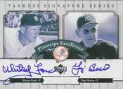 2003 Upper Deck Yankees Signature Pinstripe Excellence Autographs #FB Whitey Ford/Yogi Berra