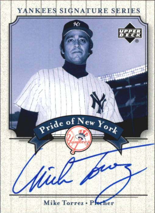 2003 Upper Deck Yankees Signature Pride of New York Autographs #MT Mike Torrez