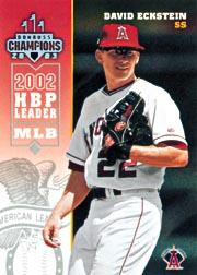 2003 Donruss Champions Samples #5 David Eckstein