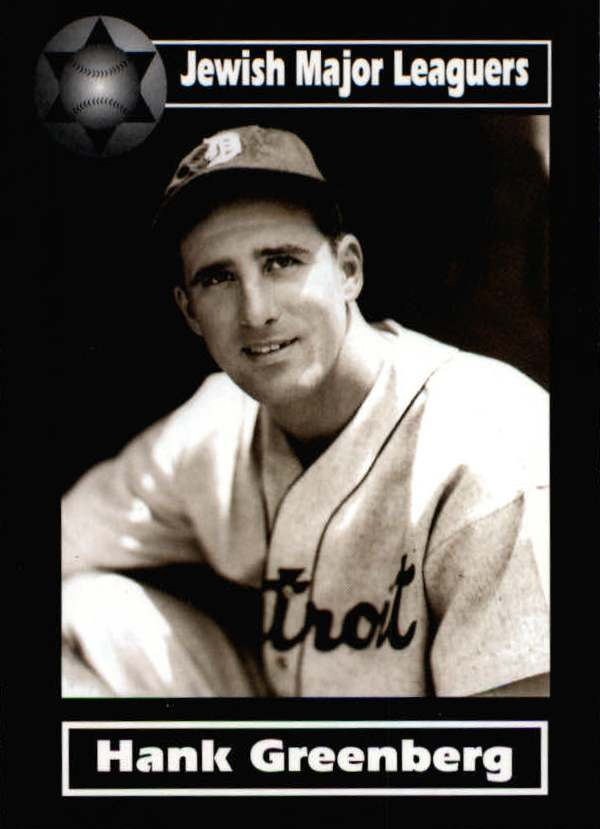 2003 Jewish Major Leaguers #3 Hank Greenberg