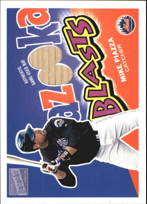 2003 Bazooka Blasts Relics #MP Mike Piazza H