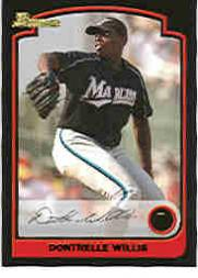 2003 Bowman Draft #1 Dontrelle Willis
