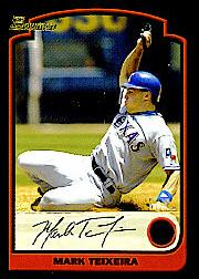 2003 Bowman Draft #6 Mark Teixeira